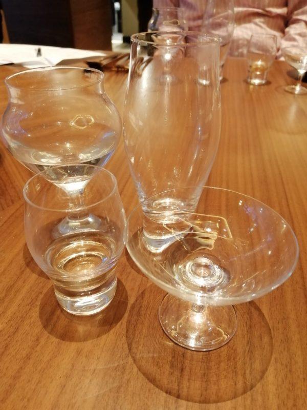 木本硝子×竹の露酒造:日本酒グラスの違いによるテイスティングセミナー