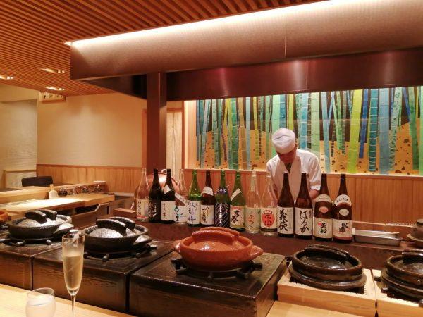 日本料理「荏原」での梅雨払い