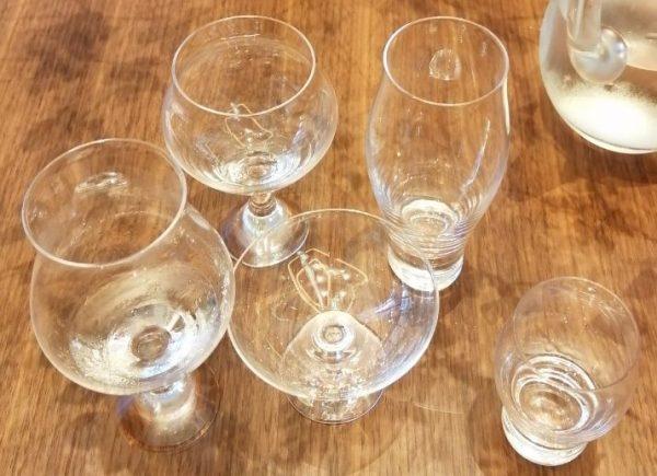 木本硝子×宮坂醸造(真澄):日本酒グラスの違いによるテイスティングセミナー