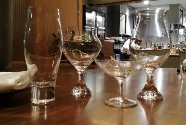 木本硝子×石川酒造:日本酒グラスの違いによるテイスティングセミナー