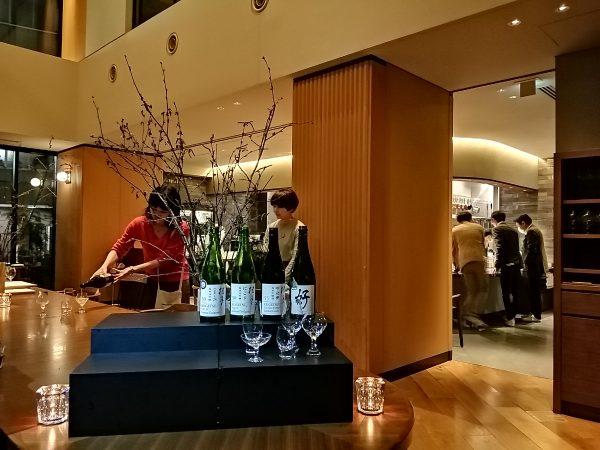 木本硝子×土佐酒造:日本酒グラスの違いによるテイスティングセミナー
